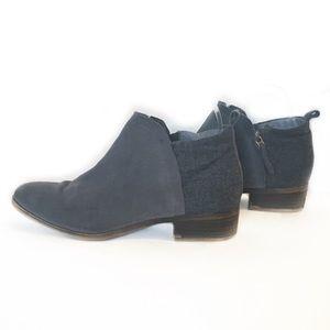 TOMS | suede gray booties